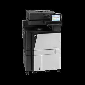 HP Color LaserJet Enterprise flow M880z NFCWireless Direct MFP
